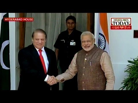 First step towards re-engagement, Modi meets Sharif