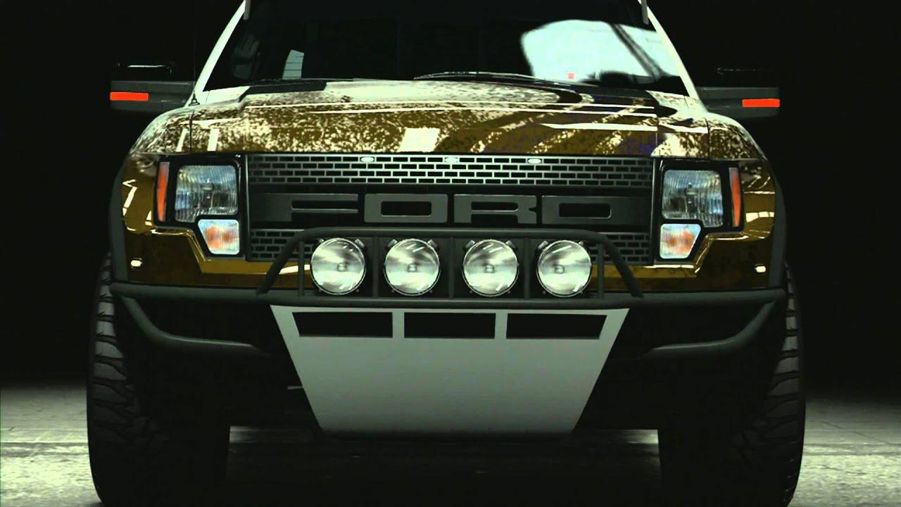 forza 4 2011 ford f 150 svt raptor trophy truck. Black Bedroom Furniture Sets. Home Design Ideas