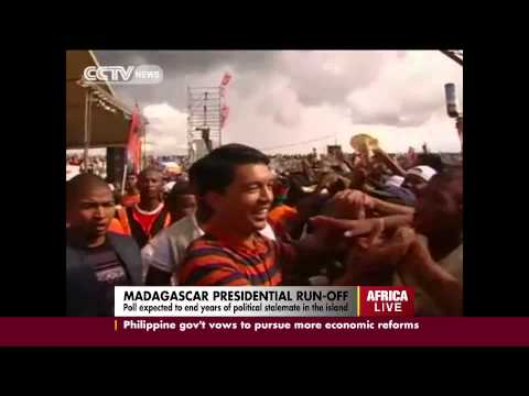 Madagascar presidential run-off expected to end years of political stalemate
