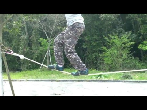 How to walk on a tightrope (Best Tutorial!)