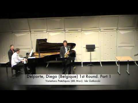 Delporte, Georges Belgique 1st Round Part 1