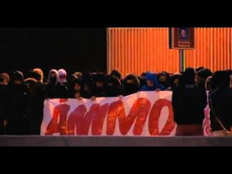 Doscientos ultras antifascistas apoyan a la orilla del Manzanares a 'Jimmy'