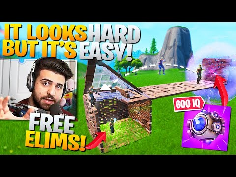 Get FREE Elims With This *600IQ* Shockwave Trick... (Fortnite Battle Royale)