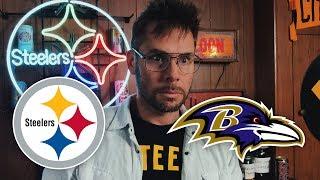 Dad Reacts to Steelers vs Ravens (Week 14)
