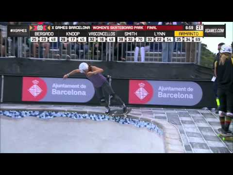 Lizzie Armanto X Games Women's Park Final