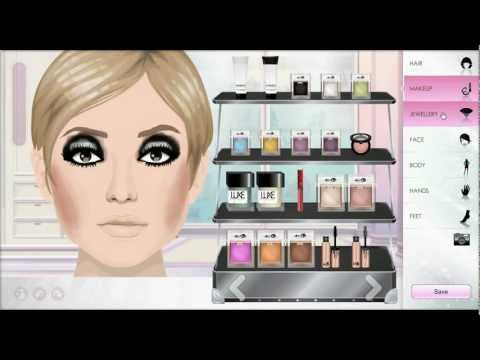 #10- Stardoll Make-Up- Twiggy