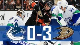 Canucks vs Ducks | Highlights | Mar. 14, 2018 [HD]