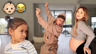 THE ACE FAMILY BABY MAMA DANCE!!! (TRYING TO GO INTO LABOR)