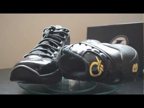 Reebok Question Mid Black and Gold 2012 Retro Review