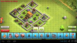 Clash Of Clans: Construire HdV 5 Defense