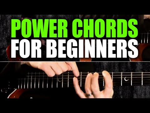 Beginner's Guitar Lesson on Power Chords - YouTube