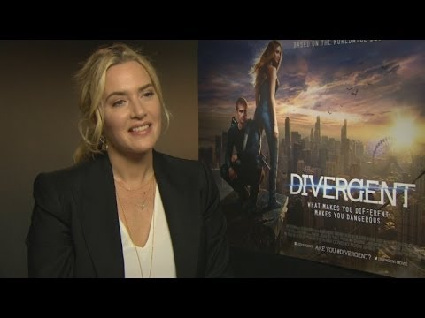 Kate Winslet on Divergent, playing a baddie and getting naked in movies