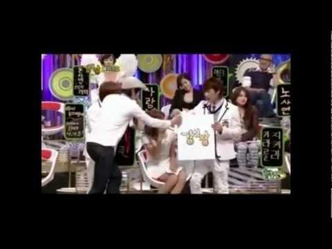 Yoona(SNSD) & Eunhyuk(Super Junior) Moments - StrongHeart Episode 4