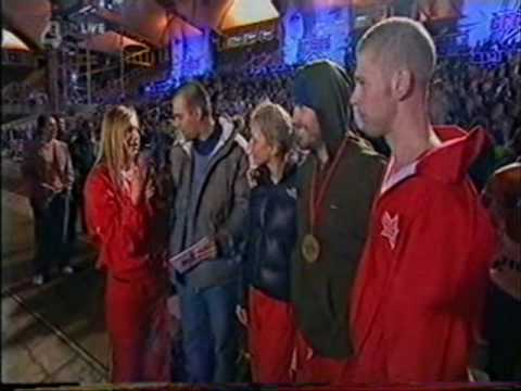 Boyzone - Shane Lynch and The Games 2004 Champions interview