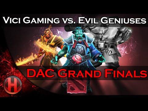 Dota 2 - VG vs. EG - Grand Finals @DAC 2015 - Highlights
