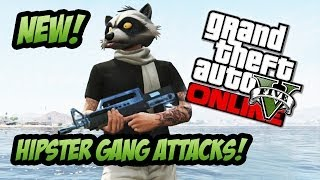 GTA 5 Online NEW Hipster Gang Attack Locations & Guide