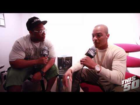 """T.I. Says """"Trouble Man"""" Will Be Classic, Talks Family & Collab w/ 50 Cent?"""