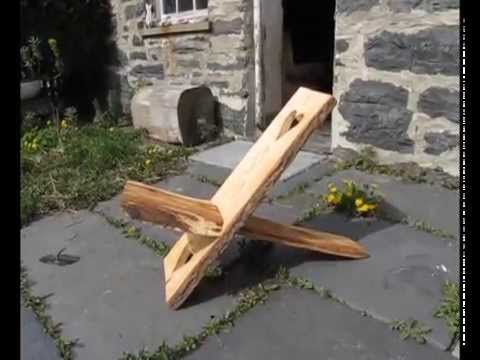 How to make a viking chair youtube for Chaise a palabre