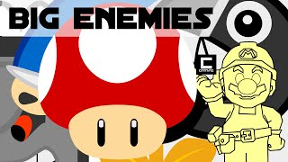 """Tips, Tricks and Ideas with Big Enemies in Super Mario Maker or """"The Mushroom Championship 1/2"""""""