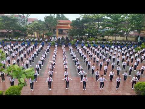 Nhảy dân vũ THCS Kiến Giang-Lệ Thủy-Quảng Bình