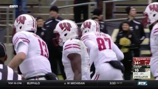 Wisconsin at Purdue - Football Highlights