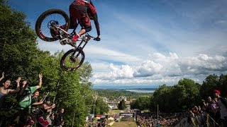 DHI - 2015 UCI MTB World Cup presented by Shimano: Mont-Sainte-Anne (CAN) / Actionclip - Duration: 1:38.