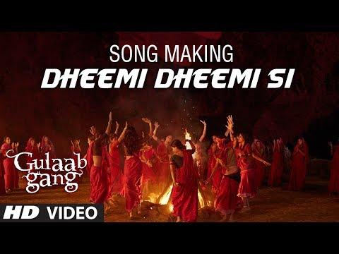 Song Making: Dheemi Dheemi Si | Gulaab Gang | Madhuri Dixit, Juhi Chawla