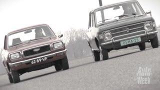 Dubbeltest - Mazda 818 vs. Fiat 128