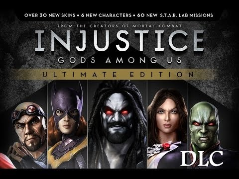 Injustice Gods Among us Ultimate Edition \\\\Personagens DLC