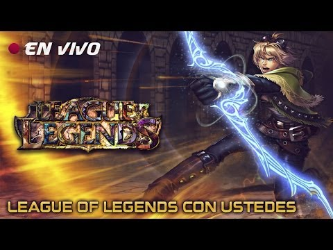 League Of Legends En Vivo Con Changos Cajas y Manos peludas