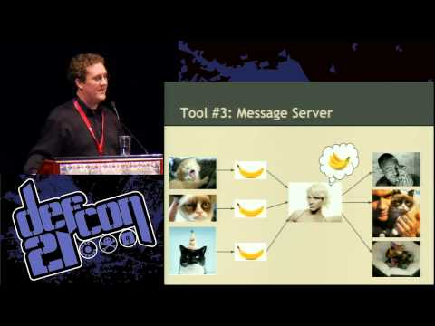 Defcon 21 - Defeating Internet Censorship with Dust, the Polymorphic Protocol Engine