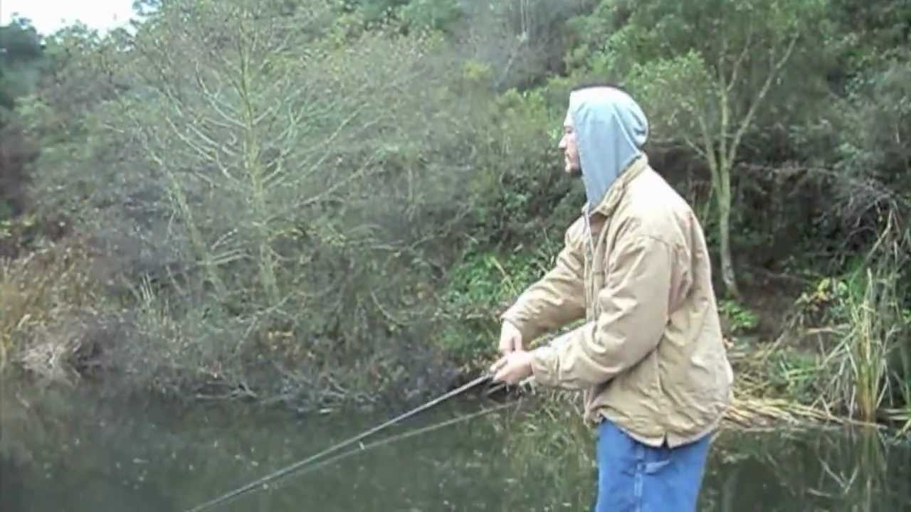 fishing for rainbow trout at lake temescal in oakland ca