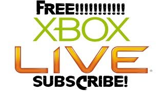 How To Get Xbox Live GOLD For FREE: UPDATED VIDEO