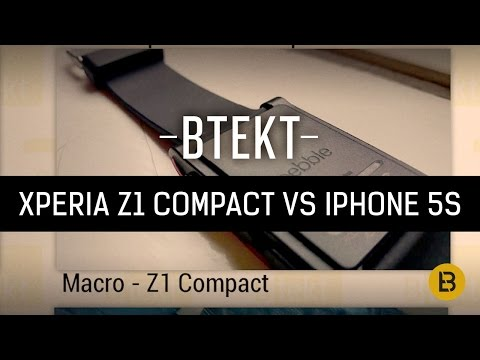 Camera comparison: iPhone 5S vs Xperia Z1 Compact