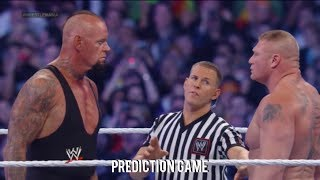 WWE Wrestlemania 30 The Undertaker Vs Brock Lesnar Full
