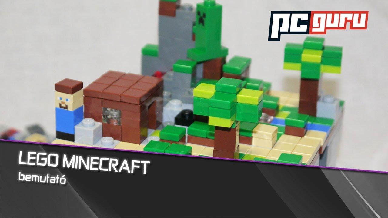 Lego Minecraft Bemutat 243 Lego 21102 Micro World Youtube