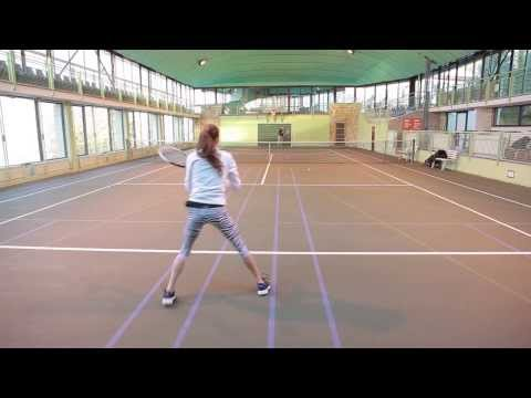 Sara Mitrovic -College Tennis Recruiting Video