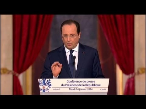 French President Francois Hollande Splits From First Lady