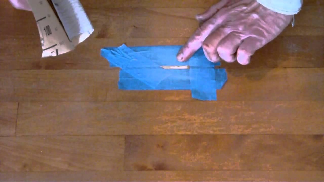 Wood Floor Repair Is It Wood Or Is It Putty Youtube