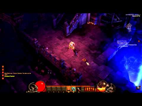 DiaBlo III - Gameplay Barbarian First Look HD