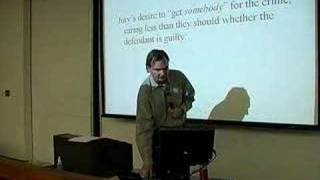 LECTURES: Professor Tom Lyon's Evidence Class 1/22/07