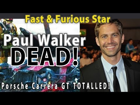 LIVE VIDEO FOUND!! Paul Walker was NOT racing when he crashed in the Porsche Carrera GT.