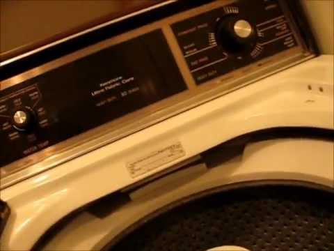 1994 Kenmore 80 Series Washing Machine Part 1 - YouTube