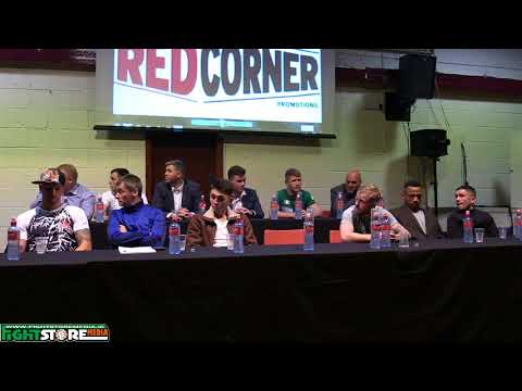 Red Corner Promotions: Champions Elect - Press Conference