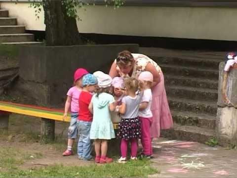 Смотреть видео О дошкольных  учреждениях Вентспилса