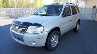 2007 Mercury Mariner Premier 4WD Start Up, Engine, and In Depth Tour