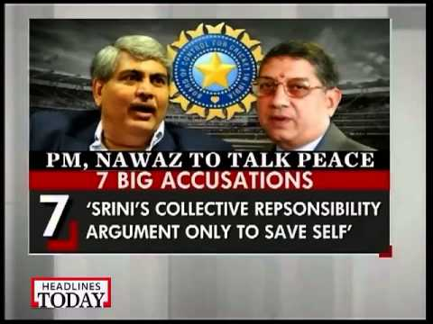 Shashank Manohar brings BCCI war out in the open, blames Srinivasan for flouting RBI norms