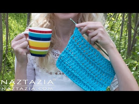 Learn How to Crochet with Just One Hand - One Handed Challenge