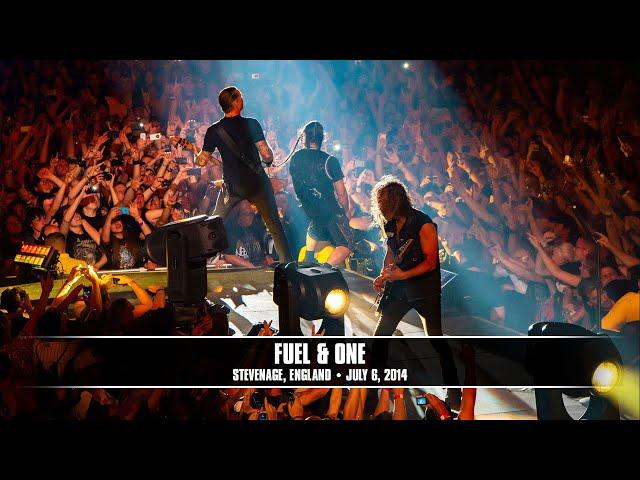 Metallica: Fuel and One (MetOnTour - Stevenage, England - 2014)