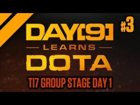 Purge and Day[9] watch TI7 Group Stage Day 1 - P3